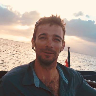Germain Lebastard - Skipper professionnel